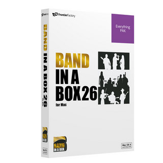 PG MUSICBand-in-a-Box 26 for Mac EverythingPAK 自動作曲ソフト