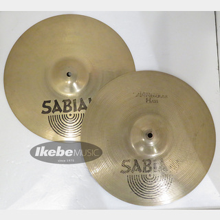 "SABIAN AA-14HH-B [AA Regular Hats 14"" Brilliant pair]【Top 990g / Bottom 1365g]【中古品】"