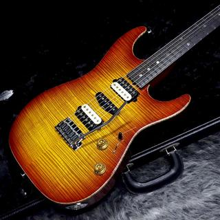 Suhr Standard Flame Maple Top Cherry Burst Reverse Headstock