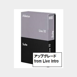 AbletonLive10 Suite upgrade from Live Intro