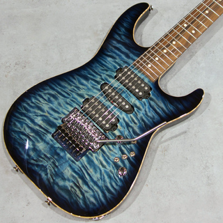 TOM ANDERSON(正規輸入品) Drop Top 7 Quilted mapleTop/Basswood Back Arctic Blue Burst【Last one of 7 strings】