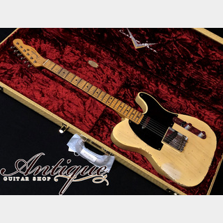 "Fender Custom Shop MBS 70th Anniv. Broadcaster 2020年製 Nocaster Blonde Heavy Relic by Jason Smith ""Limited Edition"