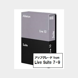 AbletonLive10 Suite upgrade from Live 7-9 Suite