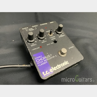 tc electronic STEREO CHORUS+ PITCH MODULATOR & FLANGER