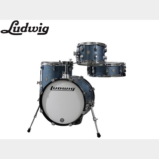Ludwig LC179X 023 AZURE BLUE SPARKLE / BreakBeats ブレイクビーツ 小口径ドラムセット