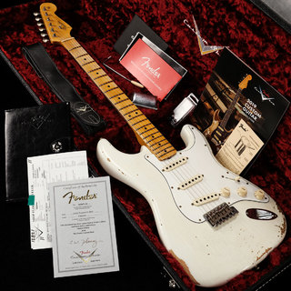 Fender Custom Shop Limited Edition 1965 Stratocaster Relic Aged Olympic White 【渋谷店】