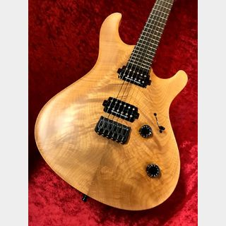 MAYONES Regius Core Classic 6 AAAA Figured Maple Top -Trans Natural Matt- 【ローン48回無金利】