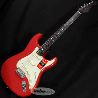 "Fender USA Limited Edition American Professional Stratocaster ""Solid Rosewood Neck"" (Fiesta Red)"