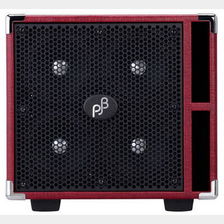 "Phil Jones Bass Compact 4 ""RED"" (C4/400W / 8Ω) [Compact Speaker Cabinet]  【即納可能】"