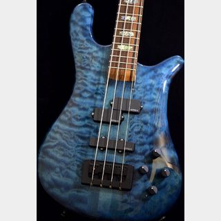 Spector USA NS-2 Quilted Maple,Redwood/Pau Ferro -Black Blue Hi Gloss-【NEW】※軽量個体 !
