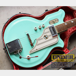 National '60s Newport 84 Res-o-Glass Map Body Seafoam Green