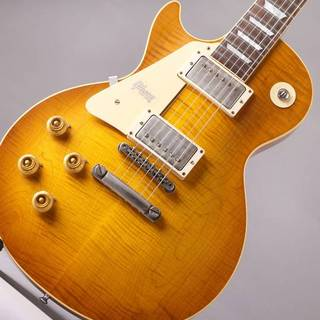 Gibson Custom Shop Historic Collection 1959 Les Paul Hand Select Top Left Hand Brown Lemon Lightly Aged