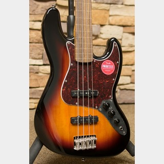 Squier by Fender Classic Vibe '60s Jazz Bass Fretless 3-Color Sunburst