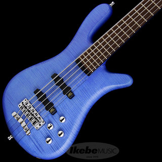 "Warwick German Team Built Streamer Stage I 5st ""Flame Maple Body"" (Ocean Blue Transparent Satin)【特価】"
