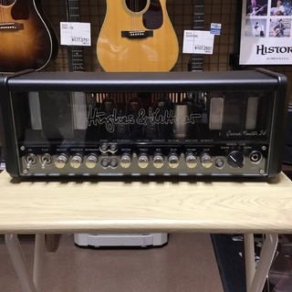 Hughes&Kettner (ヒュース&ケトナー)GrandMeister 36 Head HUK-GM36/H 【現物画像】