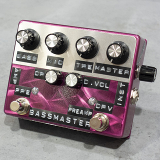 Shin's Music Bass Master Preamp PurpleScratch 【カスタム筐体モデル】