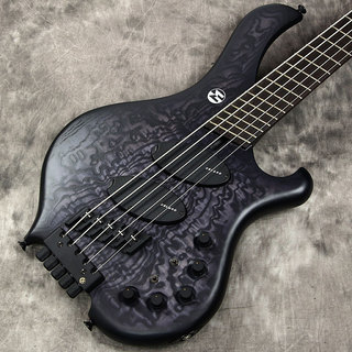 "MARUSZCZYK INSTRUMENTSFrog Omega 5a Headless Multi Scale ""Quilted Ash Top"" Black Burst【チョイキズ特価】【新宿店】"