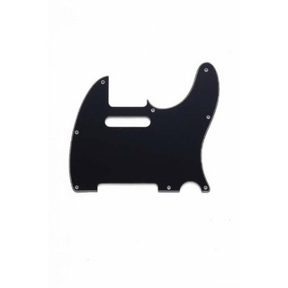 ALLPARTS PICKGUARDS 8034 Black Pickguard for Telecaster テレキャスターピックガード