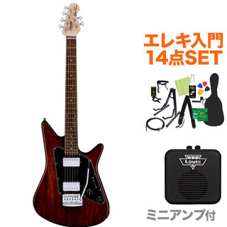 Sterling by MUSIC MAN ALBERT LEE SIGNATURE TWN エレキギター初心者14点セット 【ミニアンプ付き】