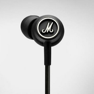 Marshall Headphones MODE BLACK AND WHITE インイヤーイヤホン