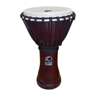 "TOCA TF2DJ-10R Freestyle II Djembe 10"" Red Synthetic Head ジャンベ"