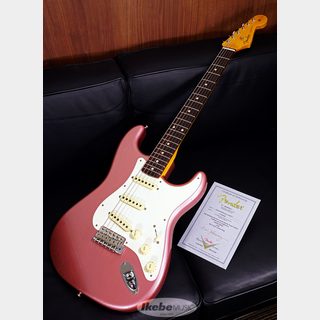 Fender Custom Shop 2020 NAMM LIMITED 1959 Stratocaster Journeyman Relic, Faded Aged Burgundy Metallic