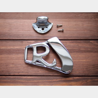 "Rickenbacker""R"" Tailpiece Chrome"