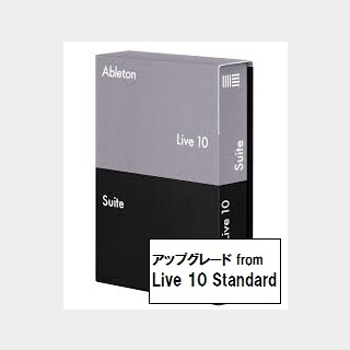 AbletonLive10 Suite upgrade from Live 10 Stadard