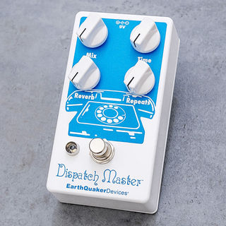 Earth Quaker Devices Dispatch Master【ハイファイデジタルディレイ&リバーブ】【即納可能】