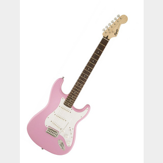 Squier by Fender Strat with Tremolo (PINK)
