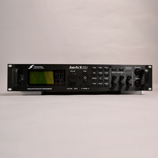 FRACTAL AUDIO SYSTEMSAxe-Fx II XL Plus【EV1&2Uラックケース付属】【中古】