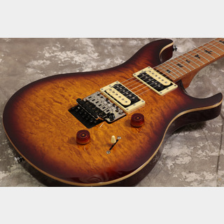 PRS SE CUSTOM 24 Floyd ROASTED MAPLE TABACCO SUNBURST NATURAL BACK 【S/N T10995】【池袋店】