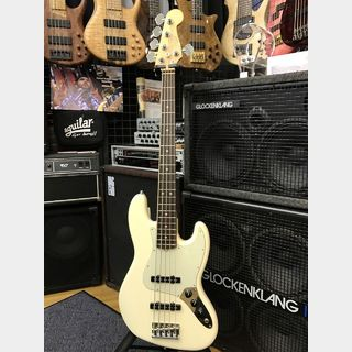 Fender American Professional Jazz Bass V -Olympic White/R-【USED】【日本総本店在庫品】