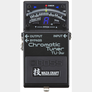"BOSS TU-3W(J) ""MADE IN JAPAN"" [Chromatic Tuner 技 Waza Craft Series Special Edition]"