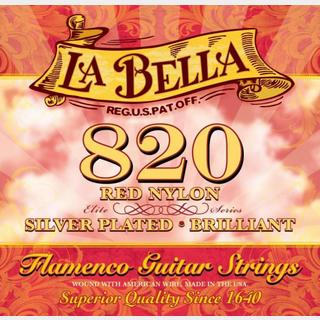 La Bella 820 Red Nylon