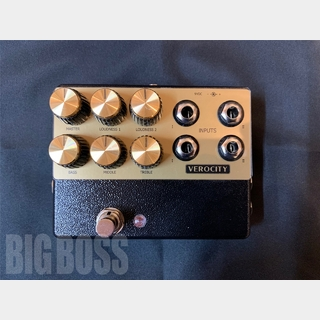 VeroCity Effects Pedals PLEXIGLASS