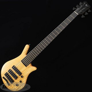 "Warwick Custom Shop Thumb Bass NT 6st ""1"" Yellow Heart Top"""