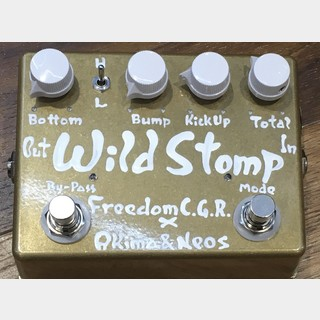FREEDOM CUSTOM GUITAR RESEARCH × Akima & Neos Wild Stomp S-LTD(Candy Gold)