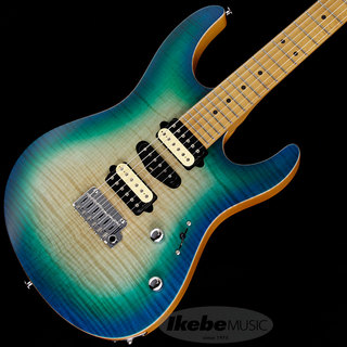 Suhr(正規輸入品) 2020 Limited Edition Modern Satin Flame (Satin Island Burst) [SN.JS8U7D]