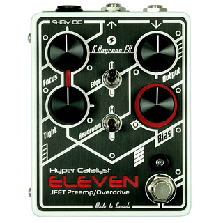6 Degrees FX Hyper Catalyst ELEVEN JFT Preamp/Overdrive