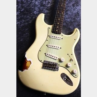 八弦小唄 -8gen-kouta- 60's Stratocaster Olympic White on 3 Tone Sunburst #11037 【東日本初進出】【極音・爆鳴個体】