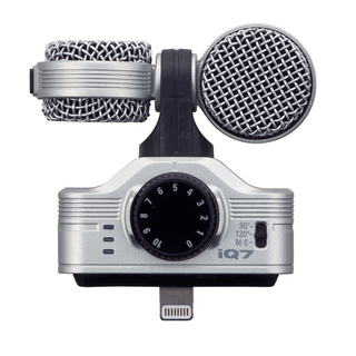 ZOOMiQ7 Professional Stereo Microphone for iOS 【即日出荷可能!】