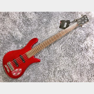 Warwick RockBass Streamer LX 5 Red Metallic High Polish 【アウトレット特価】【2019年製】