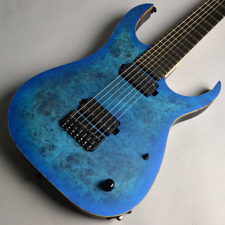 Strictly 7 GuitarsCOBRA SPECIAL 7 HT/B MAPLE BURL / BLUE BURST MATTE【楽器フェアモデル】