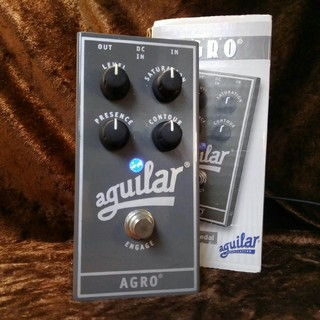 aguilar AGRO Bass Overdrive Pedal [正規輸入品] ☆送料無料!11/20(火)20時まで!☆