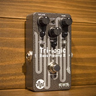 E.W.S. Tri-logic Bass Preamp 3