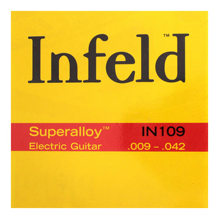 Thomastik-Infeld IN109 Superalloy 09-42 エレキギター弦×6セット