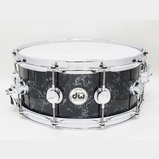 "dw USED DW Collector`sMaple 14""x6"" BlackVelvetカバリング アルミケース付"