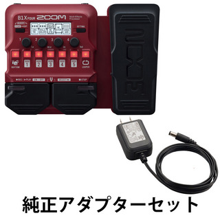 ZOOM B1X FOUR Bass Multi-Effects Processor 純正アダプター AD-16 セット