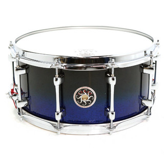 SAKAE SD1465MA Mighty Halo BLACK N BLUE メイプル 14x6.5 スネアドラム 【SHIBUYA_WEST】